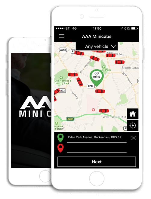 AAA Minicabs App